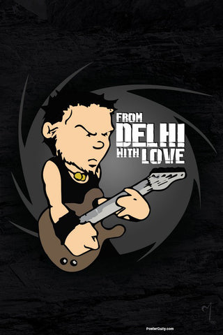 Brand New Designs, Delhi Love Artwork | Artist: MyArtini Bar, - PosterGully - 1