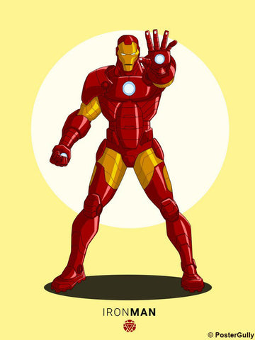 Wall Art, Iron Man Artwork | Artist: Siladityaa Sharma, - PosterGully - 1