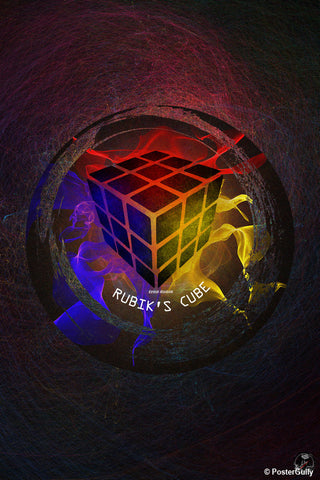 Brand New Designs, Tribute To Rubik Artwork | Artist: Devraj Baruah, - PosterGully - 1