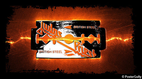 Wall Art, British Steel Artwork | Artist: Devraj Baruah, - PosterGully - 1