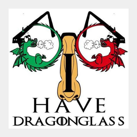 Dragonglass Square Art Prints PosterGully Specials