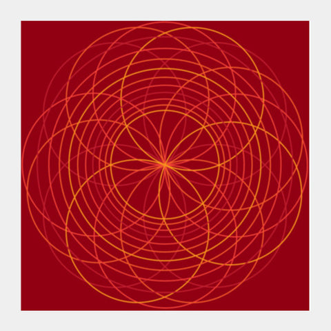 Circles 2.0 Square Art Prints PosterGully Specials