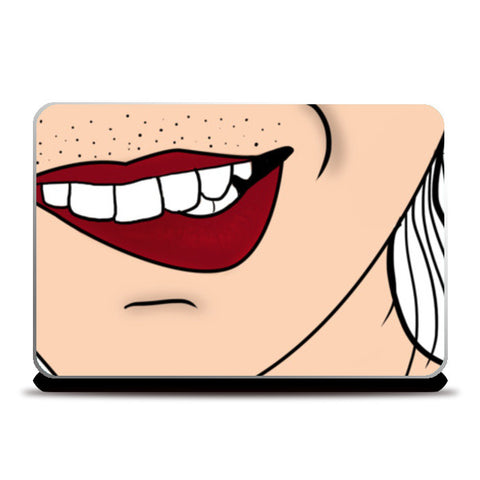 lips Laptop Skins | Artist : DISHA BHANOT