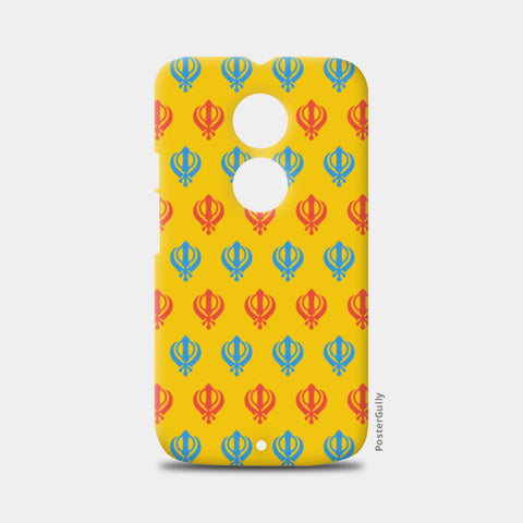 Moto X2 Cases, Khanda Art Moto X2 Cases | Artist : Gagandeep Singh, - PosterGully