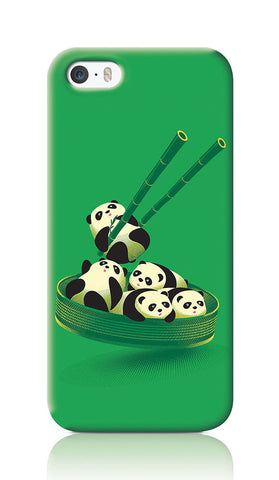 iPhone Cases, Panda Dumplings Green iPhone 5/5S Case | By Captain Kyso, - PosterGully