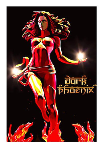 PosterGully Specials, Dark Phoenix Wall Art | Artist : Delusion, - PosterGully