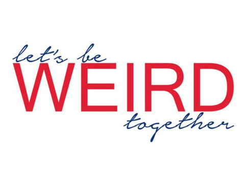 PosterGully Specials, let's be weird together Wall Art | Artist : safira mumtaz, - PosterGully