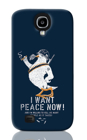 Samsung S4 Cases, Peace Deep Blue Samsung S4 Case | By Captain Kyso, - PosterGully