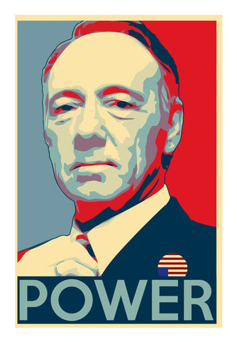 Frank Underwood | House of Cards Wall Art | Artist : Gub Gub