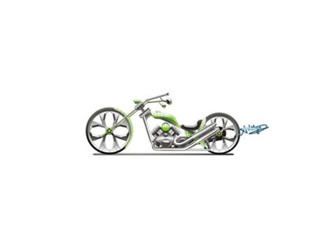 Wall Art, Green 'n' Chrome : Bobber Wall Art  | Artist : Aditya Srinate, - PosterGully