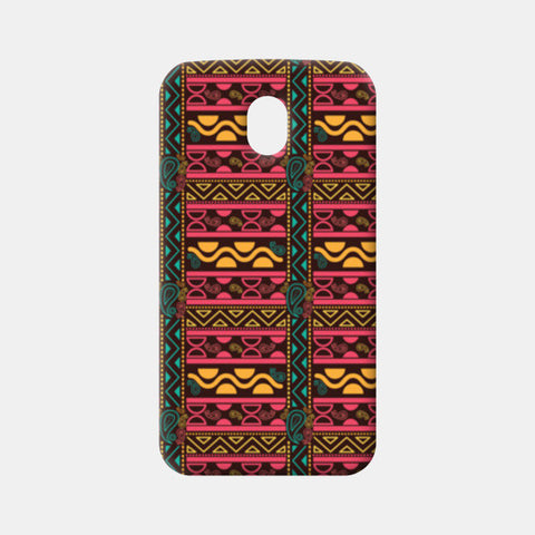 Abstract geometric pattern african style Moto G3 Cases | Artist : Designerchennai