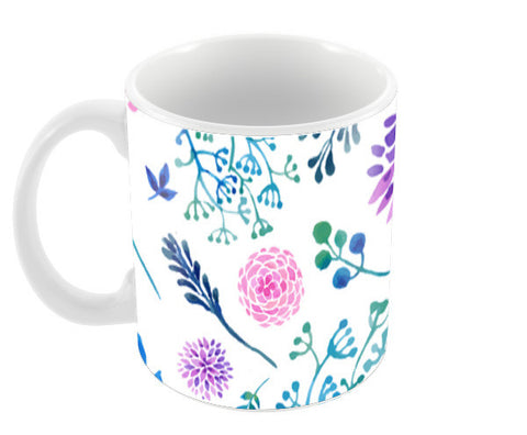 Watercolour Spring Coffee Mugs | Artist : Suraaj Ajithakumar