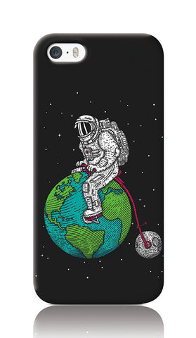 iPhone Cases, Ride The World Dark Grey iPhone 5/5S Case | By Captain Kyso, - PosterGully