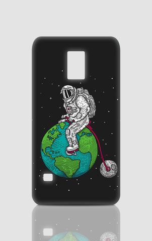 Samsung S5 Cases, Ride The World Dark Grey Samsung S5 Case | By Captain Kyso, - PosterGully