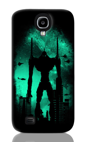 Samsung S4 Cases, Robot Attack Black Samsung S4 Case | By Captain Kyso, - PosterGully