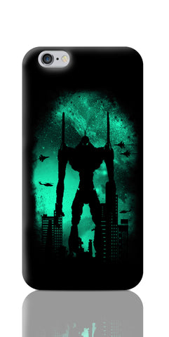 iPhone 6 / 6s Cases, Robot Attack Black iPhone 6 / 6s Case | By Captain Kyso, - PosterGully