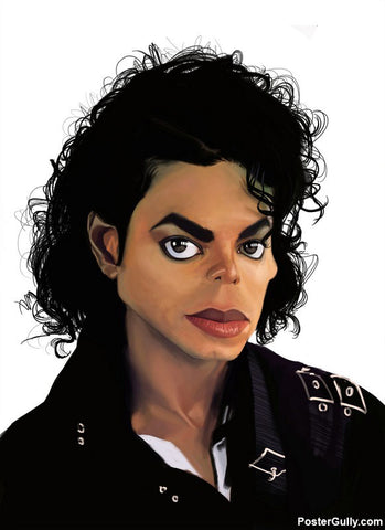 Brand New Designs, Michael Jackson  Artwork | Artist: Sri Priyatham, - PosterGully - 1