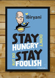 Brand New Designs, Steve Jobs-Stay Hungry Stay Foolish Artwork | Artist:MyArtini Bar, - PosterGully - 2
