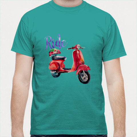Ride 2 Men T Shirts | Artist : Vaishak Seraphim