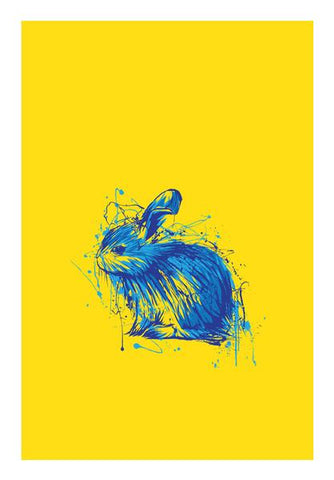 Rabbit Wall Art PosterGully Specials
