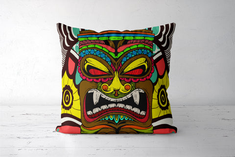 Tiki Monster Cushion Covers | Artist : Pulkit Taneja