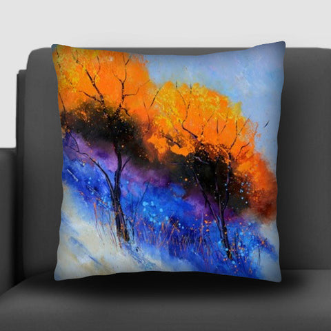Two magic trees Cushion Covers | Artist : pol ledent