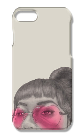 Betty With The Glasses iPhone 7 Cases | Artist : Anniez Artwork