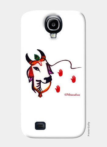 Gaiya | The adorable Indian Cow Samsung S4 Cases | Artist : Miraculous