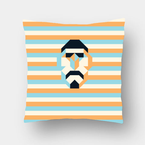 Cushion Covers, Mosaic Figure Cushion Cover | Artist: Arimit Bhattacharya, - PosterGully