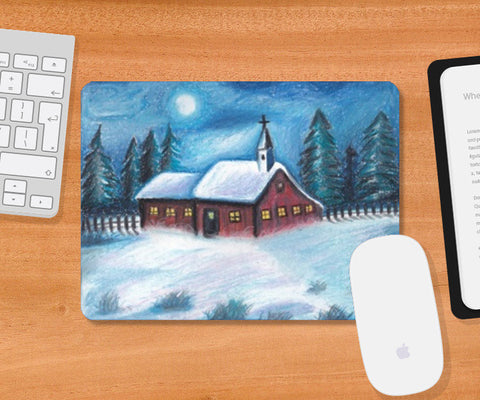 Mousepad, Moonlight Mousepad | Artist : Madhurima Biswas, - PosterGully
