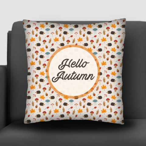 hello autumn Cushion Covers | Artist : DISHA BHANOT