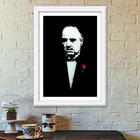 The Godfather | Vivek Aind Premium Italian Wooden Frames | Artist : Vivek Aind