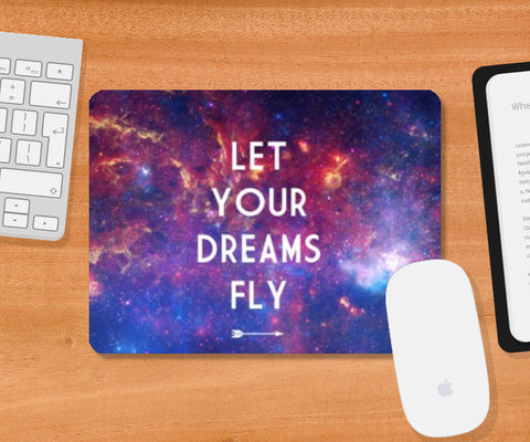 Mousepad, Let Your Dreams Fly Mousepad | Artist : Suraaj Ajithakumar, - PosterGully