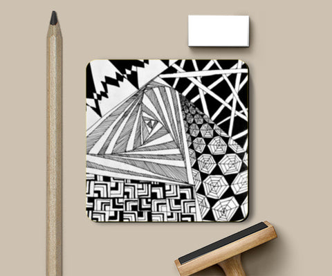 Coasters, Graphic Doodle Coasters | Artist : Purvi Gadewar, - PosterGully