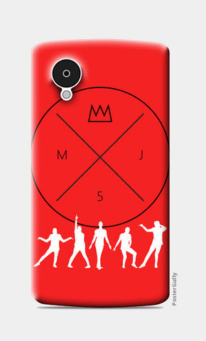 Nexus 5 Cases, Power Of Dance Nexus 5 Cases | Artist : MJ5 Officials, - PosterGully