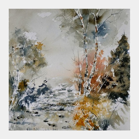 Square Art Prints, Watercolor 412141 Square Art Prints | Artist : pol ledent, - PosterGully