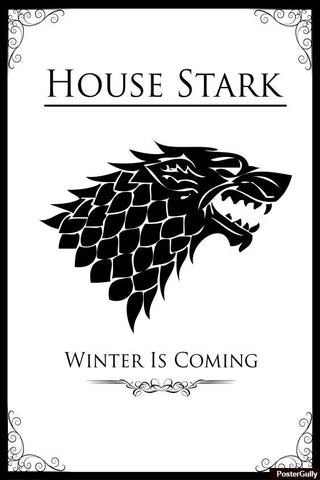 Brand New Designs, House Stark #2 Artwork | Artist: Palna Patel, - PosterGully - 1