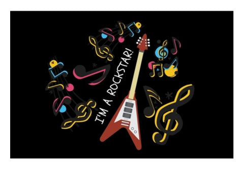 MUSIC LOVER Wall Art  | Artist : Pallavi Rawal