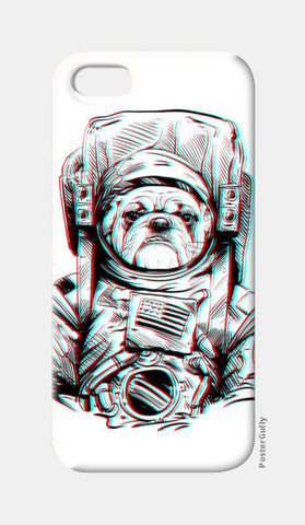 3D Space Dog iPhone 5 Cases | Artist : Pulkit Taneja