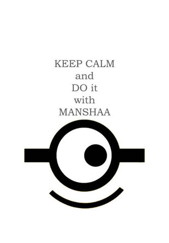 keep calm and write it with manshaa Wall Art | Artist : manshaa