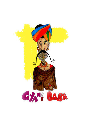Gyani Baba Art PosterGully Specials