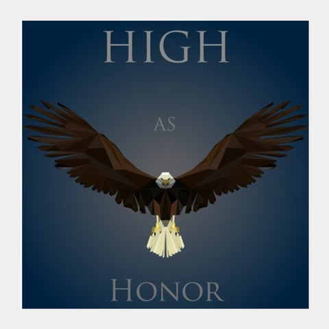 Square Art Prints, Game OF Thrones House Arryn Square Print Square Art Prints | Artist : Vedant Sharma, - PosterGully