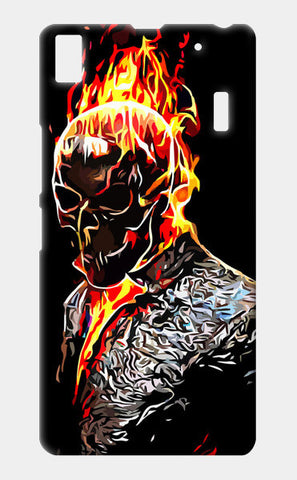 Lenovo A7000 Cases, Ghost Rider Lenovo A7000 Cases | Artist : Delusion, - PosterGully