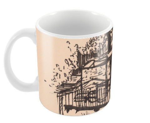 Behind the Trees Coffee Mugs | Artist : Shalini Upadhyay