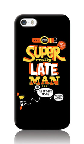 iPhone Cases, Super Really Late Man Black iPhone 5/5S Case | By Captain Kyso, - PosterGully