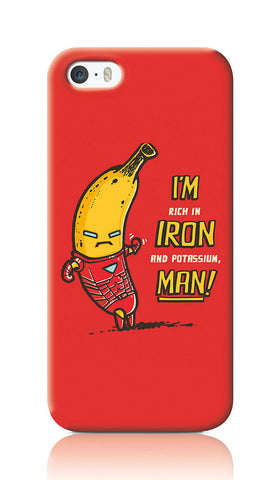 iPhone Cases, Tony Goes Bananas Red iPhone 5/5S Case | By Captain Kyso, - PosterGully
