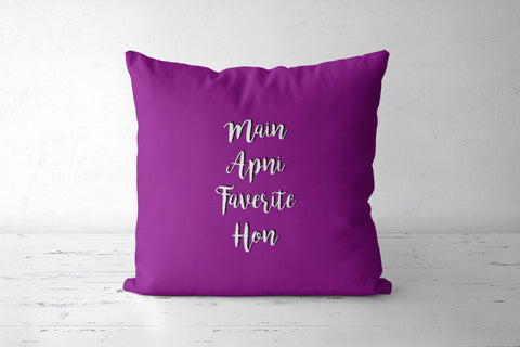 Kareena vala dialogue Cushion Covers | Artist : Stuti Bajaj