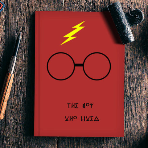 Harry Potter - The Boy Who Lived Notebook | Artist : Gurmeet