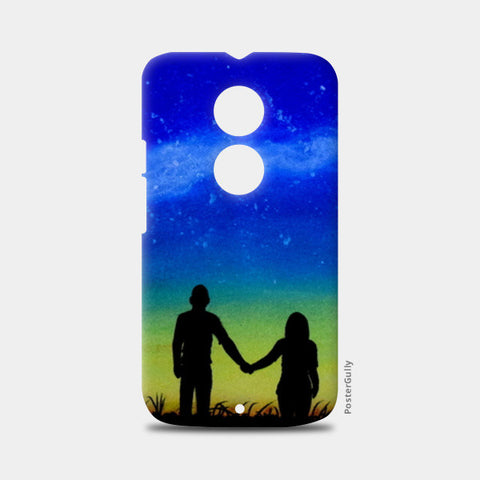 Sunset Love Painting Moto X2 Cases | Artist : Rahul Tanwar