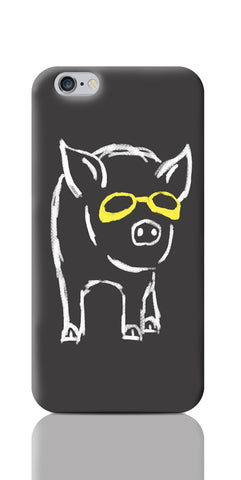 iPhone 6 / 6s Cases, Piggy Wants To Be Cool Grey iPhone 6 / 6s Case | By Captain Kyso, - PosterGully
